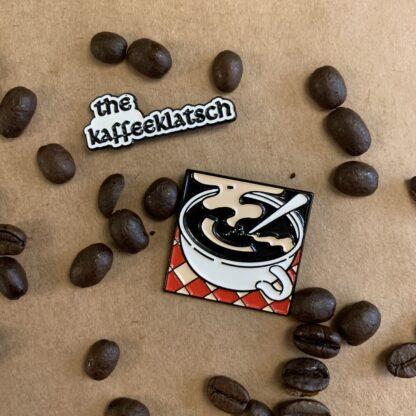 Kaffeeklatsch Logo Pins